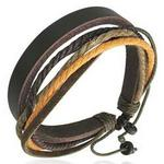 Urban Thread Leather Bracelet