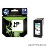 HP 140XL Black Inkjet Print Cartridge with Vivera Ink