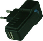 Ft USB AC wall charger for iPod (Black)