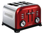 Morphy Richards Brushed Accents 4 Slice Toaster