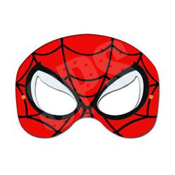 Spiderman eye mask template