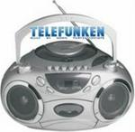 Telefunken Portable Radio Cassette & CD Player