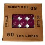 House Brands Purple Tealight Pack Of 50