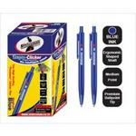 Statemans Stationery CLIC PENS 50's BLUE INK 309650BLU657