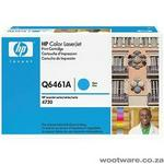 HP Q6461A Cyan Toner Cartridge - 1200 pages