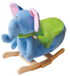 General YoYo Baby Rocker in Blue Elephant