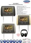 Jensen JDV-HRDV7 Head Rest Screen Built DVD Player