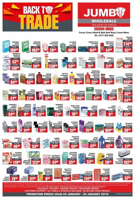 Find Jumbo Cash & Carry Deals Online | Compare Prices Online