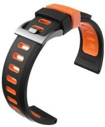 Ticwatch Pro S2 E2 Watch Band For Pro 22MM Width Watch Band Pro S2 E2 Replacement Band Black-orange