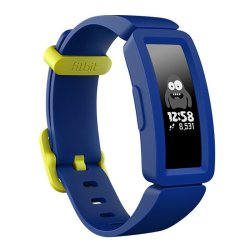 Fitbit Ace 2 Activity Tracker For Kids - 1 Count Night Sky + Neon Yellow