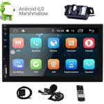 """Eincar 2-DIN Car Stereo 7"""" Touch Screen With Built-in HD Radio Double 2 Din Android Carplay Head Unit Support Gps Navigation Fm"""