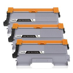 7MAGIC Brother TN450 TN420 TN-450 TN-420 Compatible Black Toner Cartridge For Brother HL-2270DW HL-2280DW HL-2220 HL-2230 HL-2240 MFC-7360N MFC-7460DN MFC-7860DW DCP-7065DN Printer 3-PACK