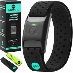 Powr Labs Bluetooth Heart Rate Monitor Armband Ant Heart Rate Monitor Armband Heart Rate Monitor Bluetooth Wrist Heart Rate Monitor For Polar Wahoo