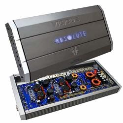 Absolute 5VI6000 6000W Max Vicious Series 5-CHANNEL Digital Amplifier 5-CHANNEL Car Amplifier 60 Watts Rms X 4 + 400 Watts Rms X 1 At 4 Ohms