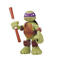 """Playmates - Toys Teenage Mutant Ninja Turtles Pre-cool Half Shell Heroes 6"""" Donatello Powersound Talking Turtles Figure"""