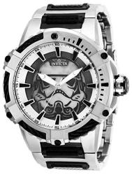 Invicta Men's Star Wars Automatic-self-wind Watch With Stainless-steel Strap Black 30 Model: 27117