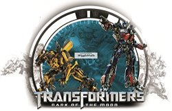 """WiggleWigal LC 15"""" Optimus Prime Transformers Autobots Dark Of The Moon Robots Removable Peel Self Stick Adhesive Vinyl Decorative Wall Decal Sticker Art Kids Room Home"""