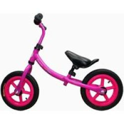 LITTLE BAMBINO Balance Bike With Adjustable Seat- Rose
