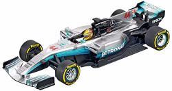 Carrera 20027574 27574 Mercedes-benz F1 W08 L. Hamilton NO.44 1: 32 Scale Analog Evolution Slot Car Racing Vehicle Gray