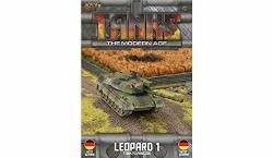 Gale Force Nine Llc GFNMTANKS09 Tanks: The Modern Age German Leopard 1 Multicoloured