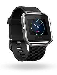 Fitbit Blaze Smart Fitness Watch Black Silver Small 5.5 - 6.7 Inch Us Version