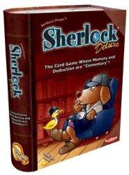 Playroom Entertainment Sherlock Deluxe Board Game