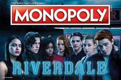 MONOPOLY Riverdale Board Game Official Riverdale Merchandise Based On The Popular Cw Show Riverdale A Great Riverdale Gift For S