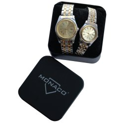MONACO - Mon SK9098 Lads Gents Watch Set