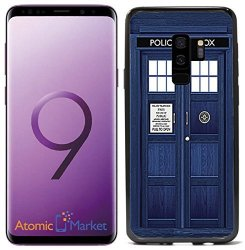 Atomic Market Tardis Police Call Box For Samsung Galaxy S9 2018 Case Cover By