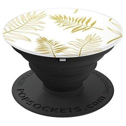 Tropical Gold Palm Leaves