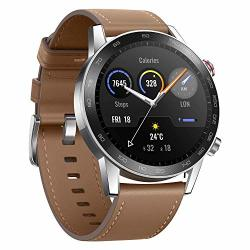 Honor Magicwatch 2 Smart Watch 1.39 Amoled 5ATM Waterproof 14 Days Standby Smart Bracelet With Gps Bluetooth 46MM Fitness Tracker Activity Tracker Brown 46MM