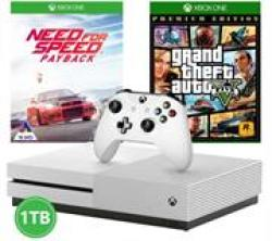 XBOX One S 1TB Console With 1 Controller + Gta V Game + Wwe 2K19 Game Retail Box 1 Year Warranty Product Overview:scrap To