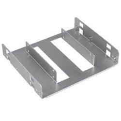 "Lian-li Silver 2x 2.5"" Hdd ssd To 5.25"" Mounting Frame"