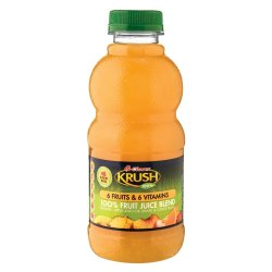 KRUSH Fruit Juice 6 Fruits & Vitamins 500 Ml