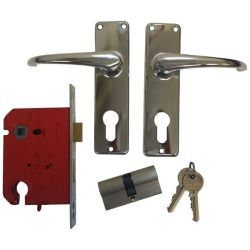 Union Gower Lockset Euro With Cyl Ch
