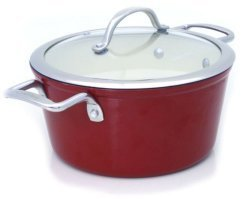 Snappy Chef 20cm Superlight Cast Iron Casserole with Lid