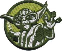 C&D Visionary Inc. Application Star Wars Clone Wars Yoda Colors Patch