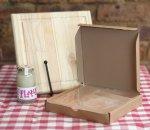 Braai Combo - Cutting Board - Planki Wax - Himalayan Crystal Salt Slab