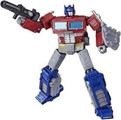 USA Transformers Toys Generations War For Cybertron: Earthrise Leader WFC-E11 Optimus Prime Action Figure - Kids Ages 8 And Up 7-INCH