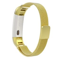 Replacement Fitbit Alta Hr Milanese Loop Band Size: S m - Gold