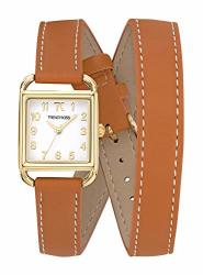 Trendy Kiss Womens Analogue Quartz Watch With Leather Strap TG10115-01