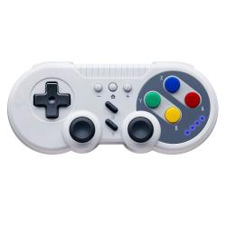 PowerLead Wireless Pro Game Controller For Switch USB Classic Controller Joystick For Windows PC Gray