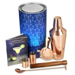 Gin Tribe 7 Piece Manhattan Cocktail Shaker Set - Copper
