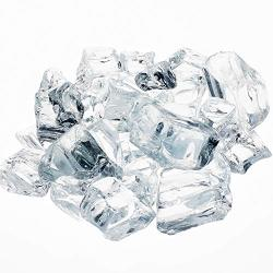"Modern Flames Athena 1 2"" Reflective Fireglass 10 Lbs Krystallo Diamond"