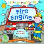 Sticker Playbook Fire Engine Hard Back