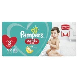 Pampers Disposable Pants Midi Jumbo Pack 60S Size 3