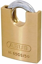 Abus 65 50MM Brass Padlock Cs