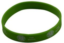 Celtic - Rubber Crest Single Wristband