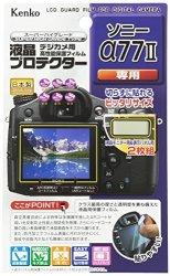Kenko Tokina USA Kenko Lcd Screen Protector For Sony A77II Clear LCD-S-77II