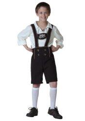 Fun Costumes Big Boys' Lederhosen Costume Medium